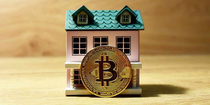 Bitcoin and a toy house