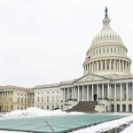 a frozen capital hill