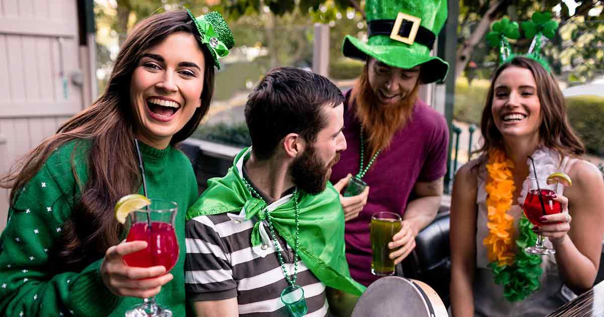 St. Patricks Day gathering