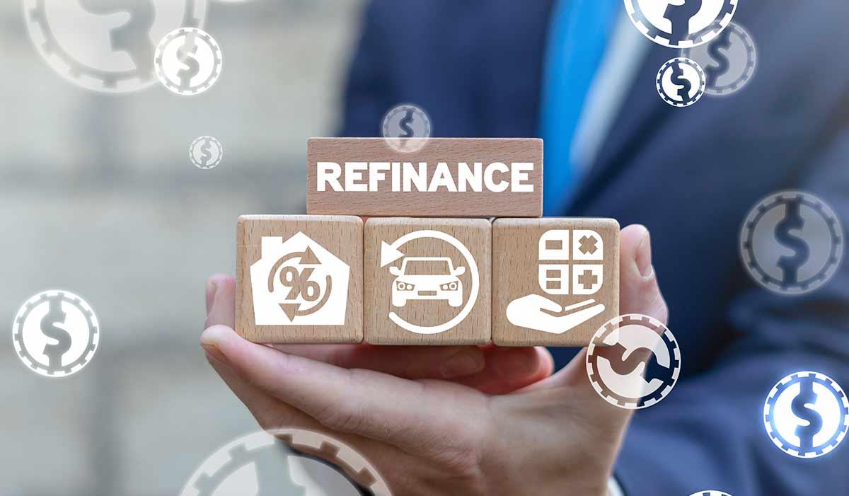 Refinance on blocks