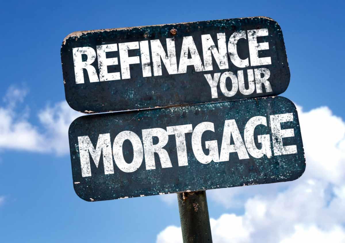 Refinance sign